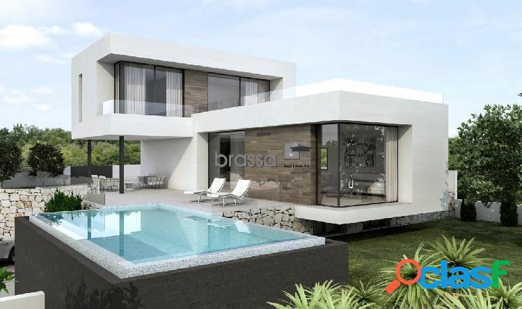 Villa de diseño lujoso en venta en Benissa Costa