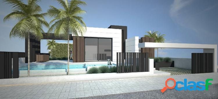 Villa de estilo moderno de una sola planta en Polop.