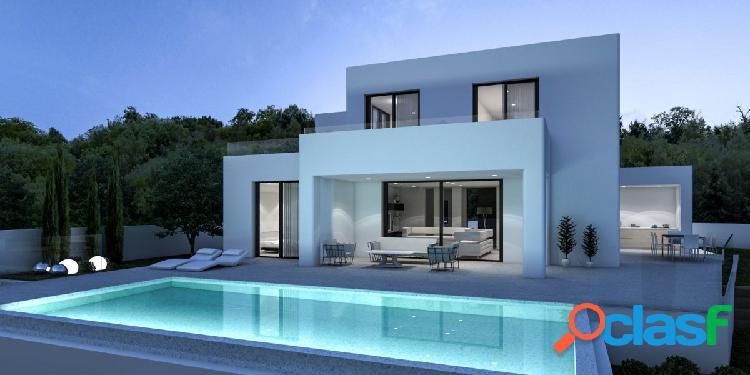 Villa de estilo moderno en venta en Carrio – Calpe