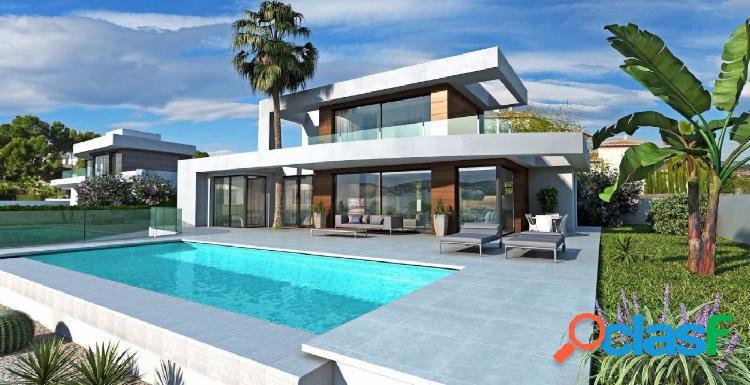 Villa de estilo moderno en venta en Moraira