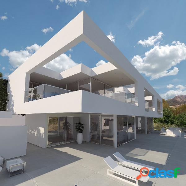 Villa de lujo moderna con impresionantes vistas a las