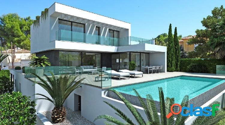 Villa de nueva construcción en venta en Cap Blanc Moraira