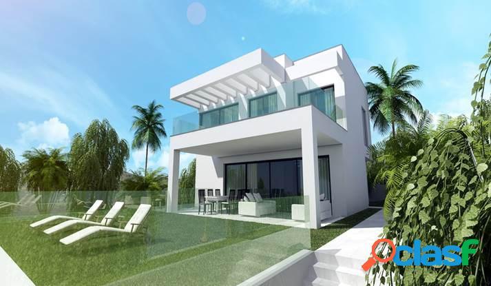 Villa de nueva construcción situada en la zona baja de La
