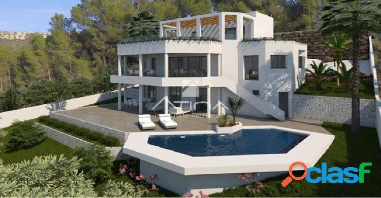 Villa en construcción de cuatro dormitorios en la exclusiva
