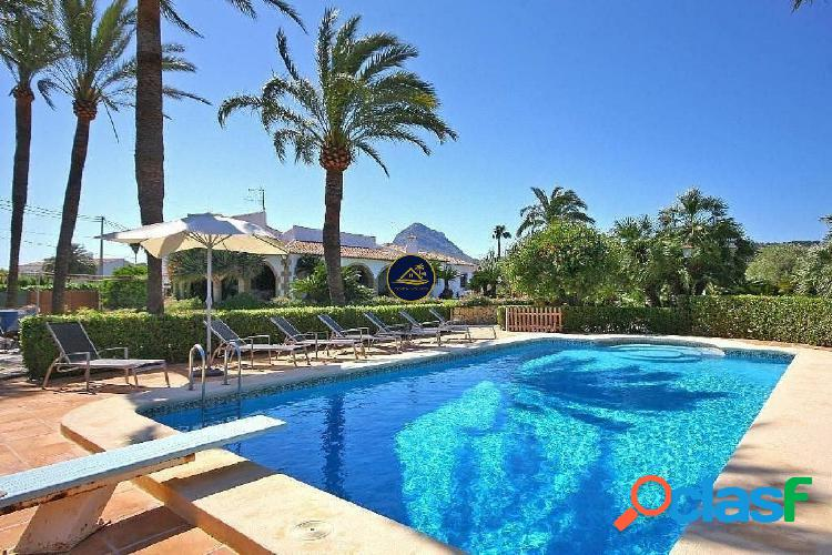 Villa estilo Finca Mediterránea en JAVEA a 5 min a pié de