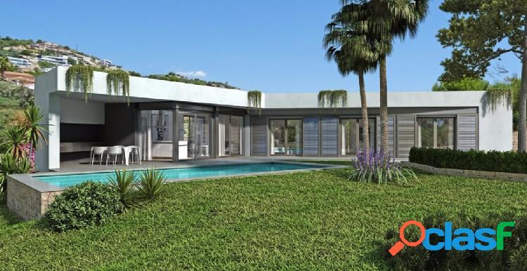 Villa moderna de nueva construcción en Benissa Costa