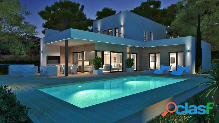 Villa moderna de nueva construcción en venta en Moraira,