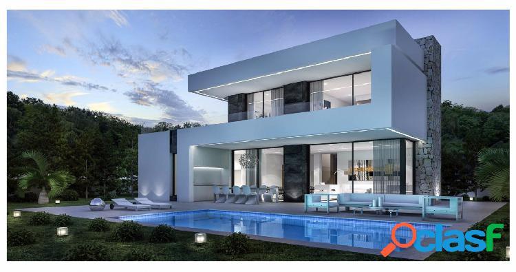 Villa moderna nueva construcción en venta Baladrar Benissa
