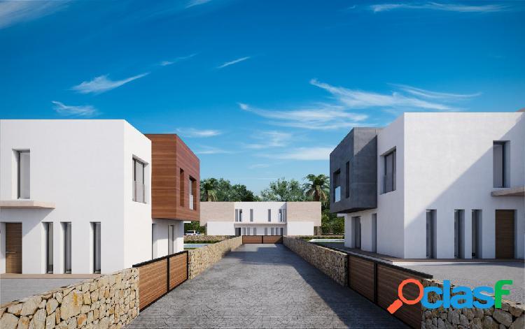 Villas Modernas de estilo Mediterráneo en venta en