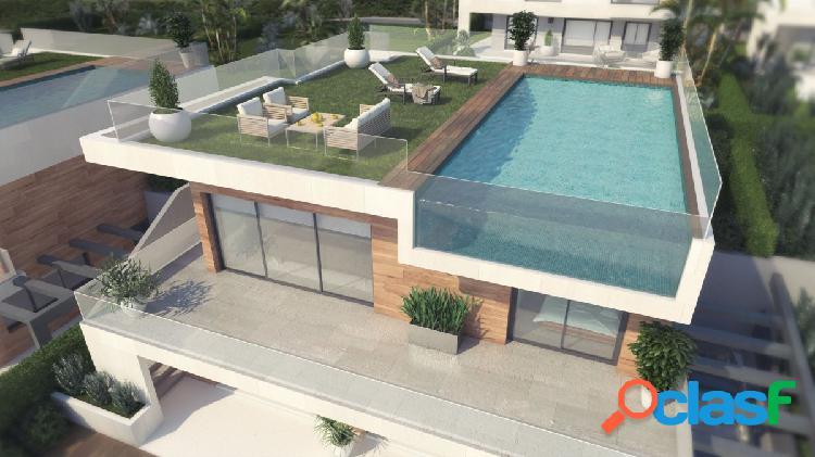 Villas de Lujo Únicas en construcción en Finestrat junto a