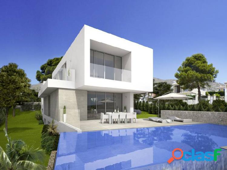Villas de estilo moderno en una de las zonas muy bonita,