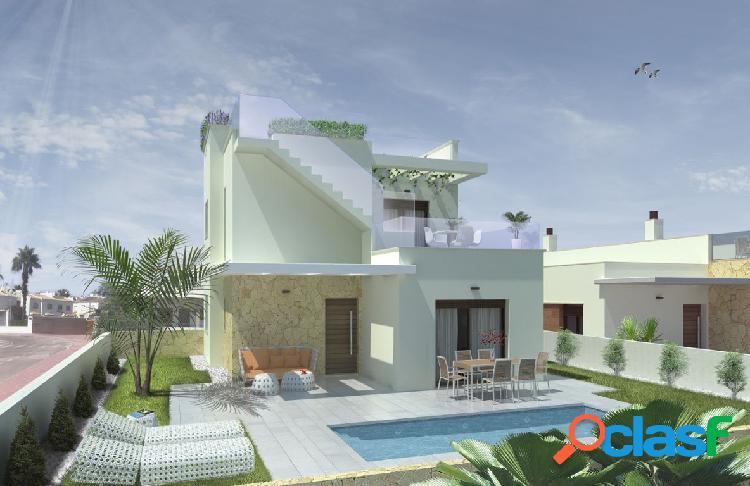 Villas de nueva construccion con piscina privada