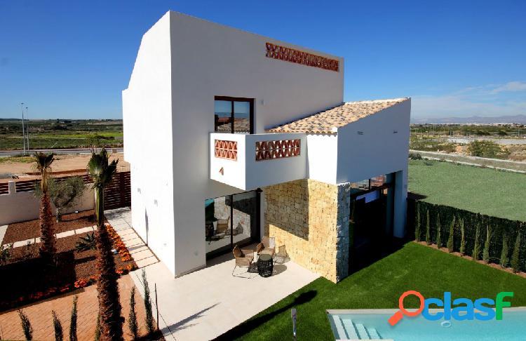 Villas independientes de estilo contemporáneo