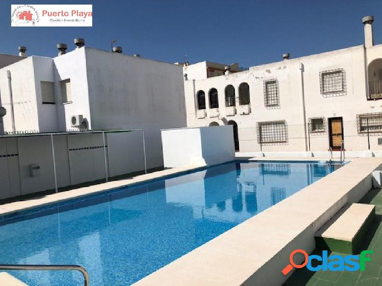 duplex de 4 dormitorios y piscina comunitaria