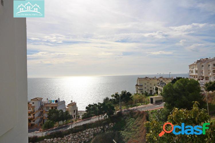 piso con amplia terraza y vistas al mar de benalmadena costa