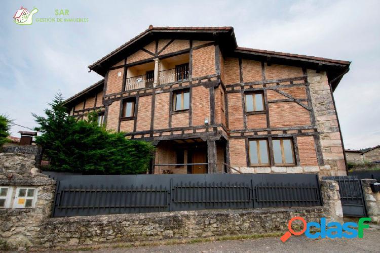 se vende casa con terreno en el pueblo de Ventas de Armentia