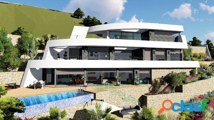 villa de nueva construcción con vistas al mar en venta en