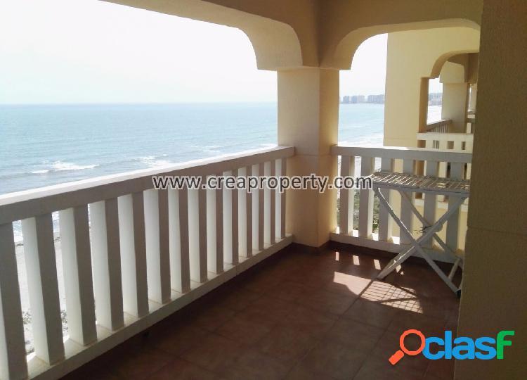 Apartamento con vistas al mar en La Manga (Murcia)
