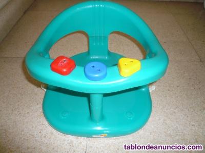 Asiento para baño de bebé