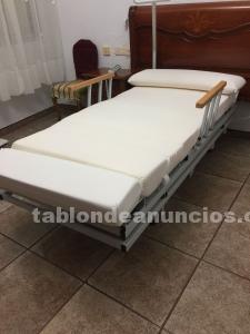 Cama ortopédica articulada y giratoria