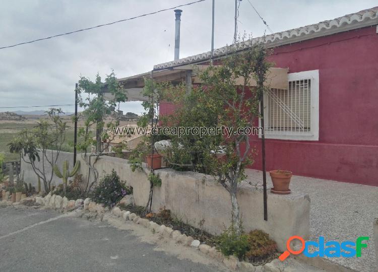 Casa de campo en La Tercia (Murcia)