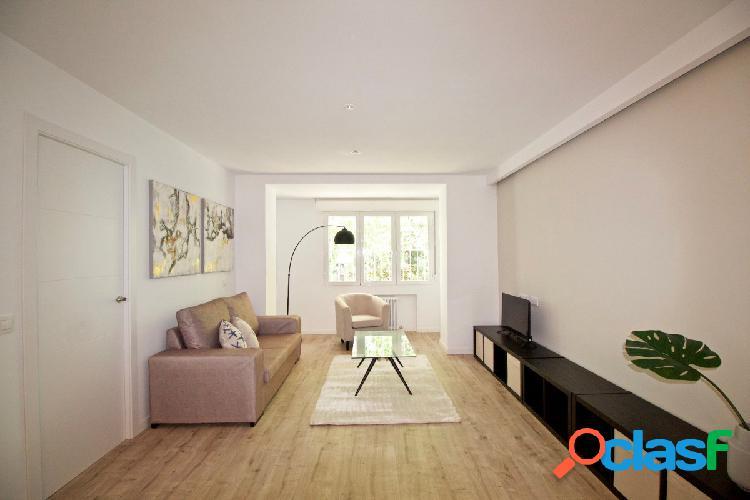 Maravilloso piso recién reformado de 2 habitaciones en
