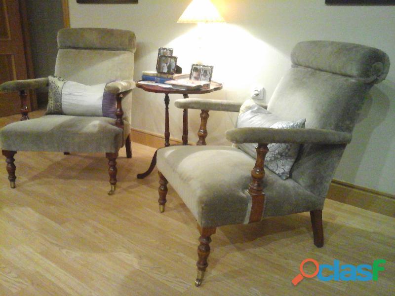 Pareja de sillones para salón o cuarto de estar