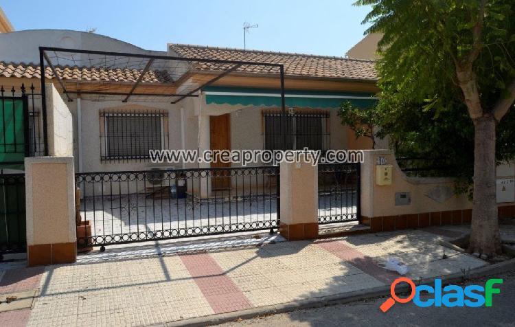 Planta baja de tres dormitorios en Los Narejos (Murcia)