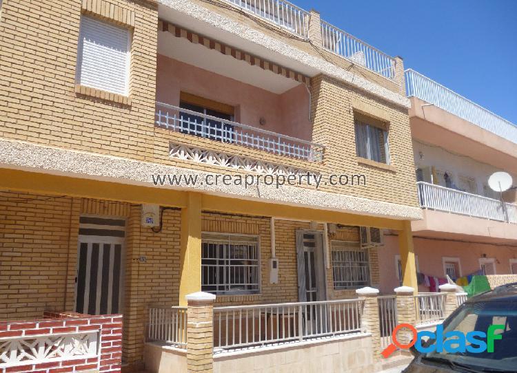 Se vende piso de 3 dormitorios en Los Narejos (Murcia)