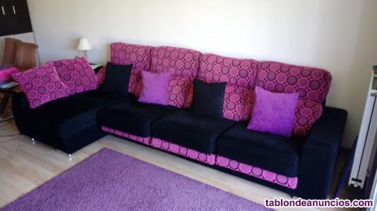 Se vende sofa chaislongue