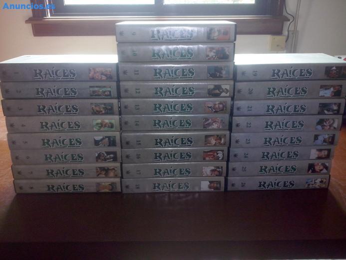 """Serie €�RaíCes"""", ColeccióN VHS Completa"""