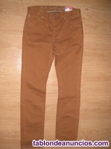 Vaquero pitillo color pepe jeans nuevo 9-10 añso