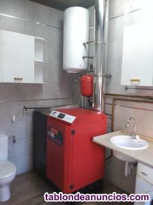 Venta caldera biomasa (pellet) calorintra/intrameder modelo
