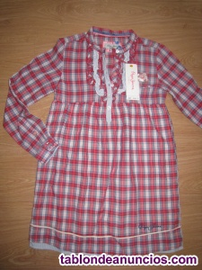 Vestido cuadritos fino pepe jeans nuevo talla 10