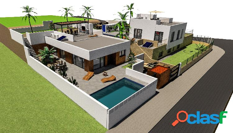 Villa obra nueva en Polop