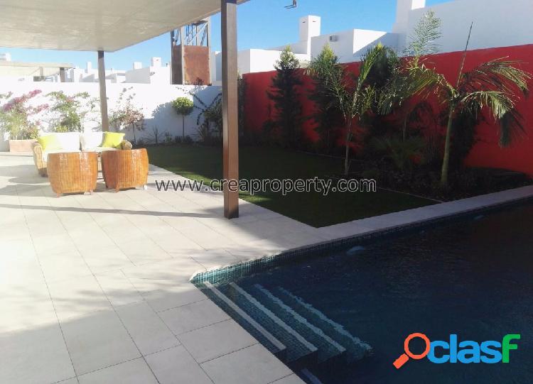 Villas de lujo en planta baja en Mar de Cristal (Murcia)