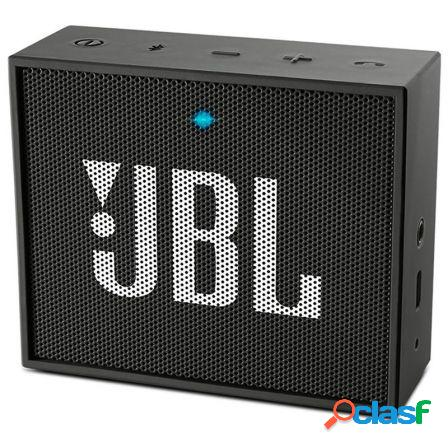 Altavoz bluetooth jbl go black - 3w - bt4.1 - audio in -