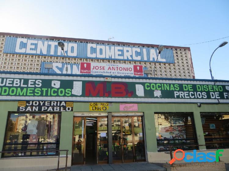 GRAN LOCAL EN ALQUILER EN EL CENTRO COMERCIAL SAN PABLO