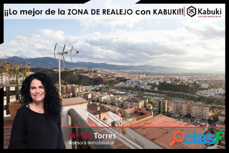 Gran vivienda con espectaculares vistas a toda Granada en