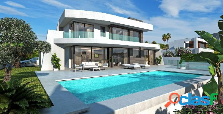 Nueva construcción de Villa de estilo moderno en Moraira