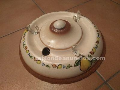 Plafón de cocina de cerámica.
