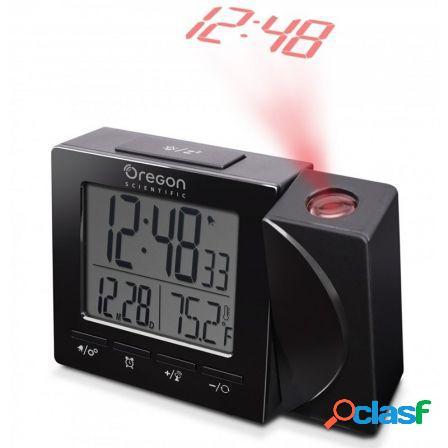 Reloj despertador oregon rm-512-p - proyecta la hora -