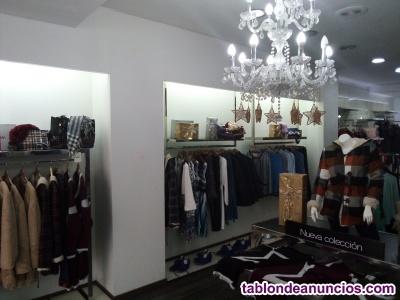 Traspaso tienda ropa de vestir
