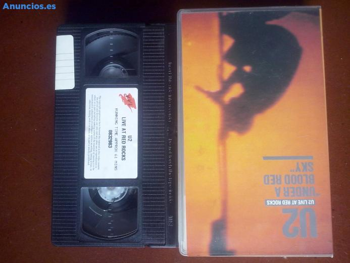 "U2 - Live At Red Rocks, €�Under A Blood Red Sky"", VHS"