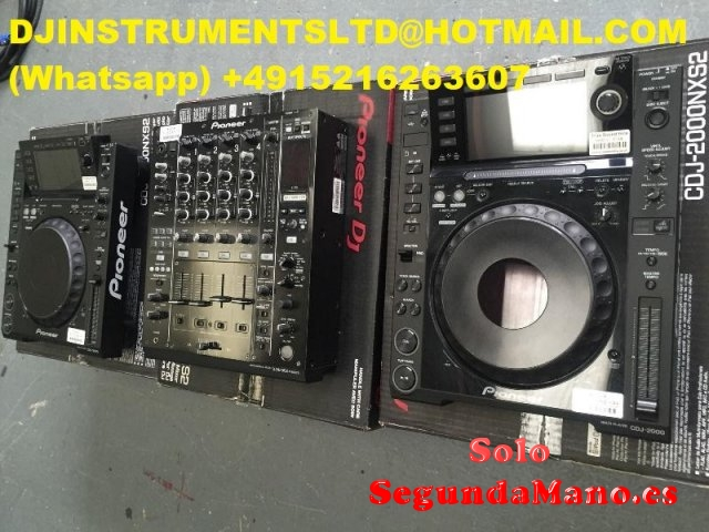 Venta Pioneer Dj 2x Cdj- Nxs2 & Djm-900 Nxs2 + Hdj-