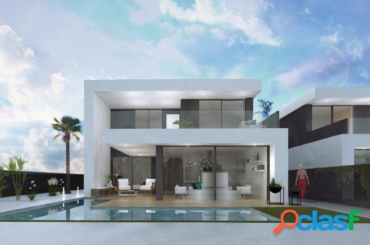 Villas de obra nueva en Santiago de la Ribera