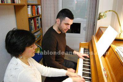 Clases de piano y lenguaje musical