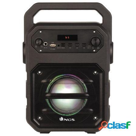 Altavoz portatil ngs roller drum - 20w - bluetooth - fm -