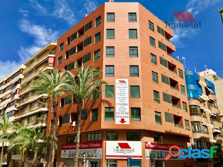 Apartamento de Obra Nuevo en el centro de Alicante