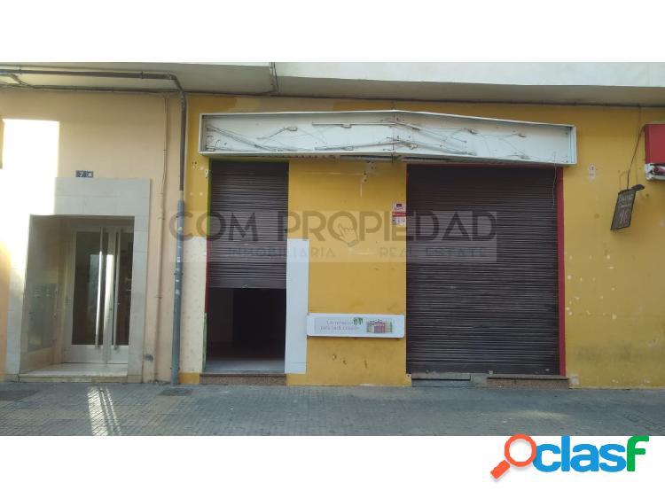 Local comercial 60 m2 en zona POLITÉCNICO Polígono Levante